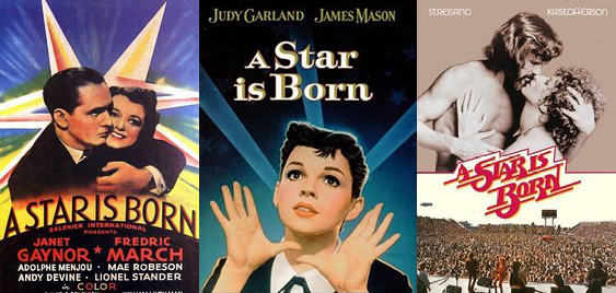 A STAR IS BORN (1937 &1954)